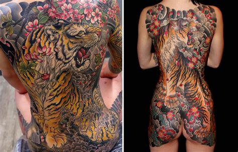Yakuza Tattoo Full Body