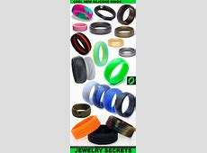 COOL NEW ACTIVE SILICONE RINGS ? Jewelry Secrets