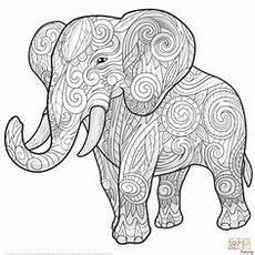 Malvorlagen Elefant Pdf Elefant Ausmalbilder Zum Ausdrucken Elefant Ausmalbild