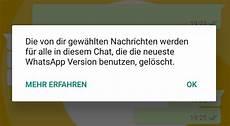 Whatsapp Gesendete Nachricht Löschen - ab jetzt verf 252 gbar gesendete nachrichten in whatsapp