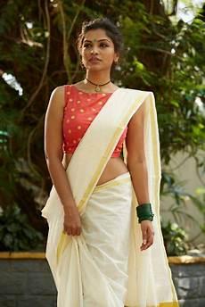 kerala style saree saree designs 35 gorgeous kerala saree blouse designs to try this year