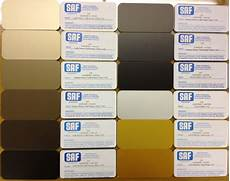 anodizing color choices saf southern aluminum finishing