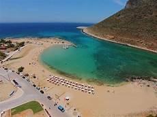 stavros beach crete greece youtube