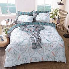 elephant mandala duvet cover with pillow case quilt cover