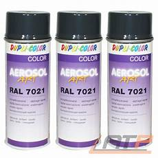 spraydose ral 7021 3x 400ml dupli color aerosol ral 7021 schwarzgrau