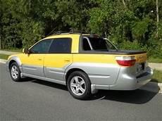 sell used 2003 subaru baja sport awd roof clean car fax fl car no reserve l k in