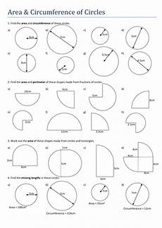 area circumference of circles worksheet by tristanjones teaching resources tes