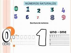 simbolo de los numeros naturales numeros naturales del 0 al 9
