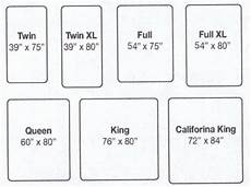 mattress sizes chart mattress california king beds and