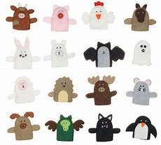 Tiere Selber Basteln - fingerpuppen aus filz selbst basteln textilunterricht