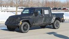 2019 jeep ute jeep wrangler ute spied testing car news carsguide