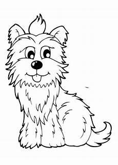 Ausmalbilder Hunde Pudel Ausmalbild Flauschiger Hund Zum Ausdrucken