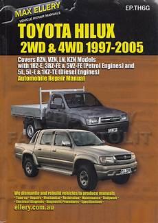 car repair manuals online pdf 1997 toyota 4runner parental controls toyota hi lux 4runner petrol repair manual 1972 1997 ellery new sagin workshop car manuals