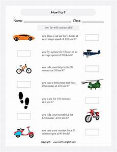 speed distance time worksheets grade 5 3306 printable primary math worksheet for math grades 1 to 6 based on the singapore math curriculum