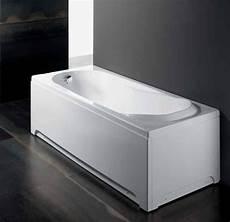 vasca da bagno con pannelli vasca da bagno free standing con pannello frontale e laterale