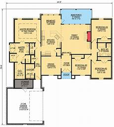 4 bedroom country house plans 4 bedroom french country home plan 56319sm