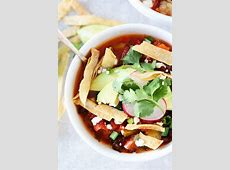 crockpot black bean tortilla soup_image