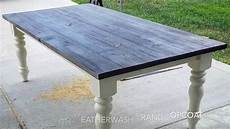 Esstisch Grau Gebeizt - gray stained table