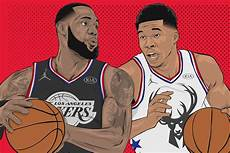 nba all star game 2019 draft your own team as lebron or giannis