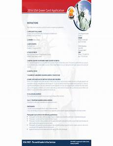 green card form usa free download