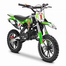 green dirt bike 50cc childrens petrol motorbike