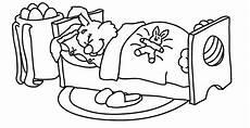 Malvorlagen Osterhase Hochzeit Malvorlage Osterhase Im Bett Als Ausmalbild