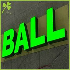 lighted wall signs aluminum light up letters manufacturer is led sign