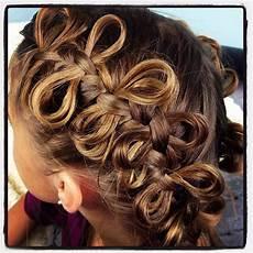 the bow braid cute braided hairstyles cute