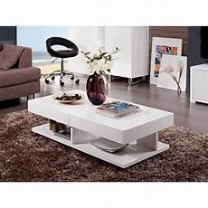 table blanc laqué table basse design blanc laqu 233 alvina