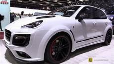 2017 Porsche Cayenne Turbo Techart Magnum Sport