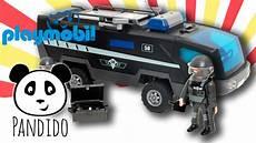 Playmobil Malvorlagen Polizei Playmobil Polizei Sek Polizei Truck Ausgepackt Und