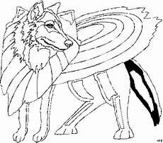wolf 3 ausmalbild malvorlage phantasie