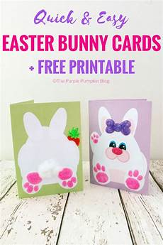 easy easter cards free printable