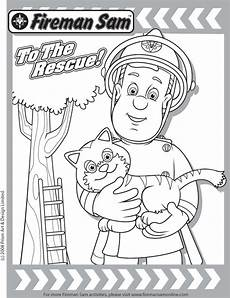 rescue friends dvd fireman sam coloring page