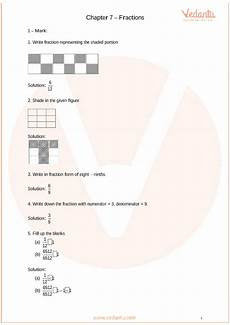 fraction worksheet for grade 6 cbse 4253 important questions for cbse class 6 maths chapter 7 fractions