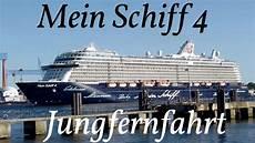 Mein Schiff 4 Auslaufen Zur Jungfernfahrt Hd
