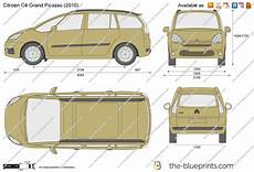 The Blueprints Vector Drawing Citroen C4 Grand Picasso
