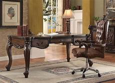 buy home office furniture home office set 2 pcs cherry oak acme 92280 versailles