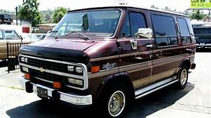 Owner 25000 Mile Chevrolet G20 Conversion Van 1500