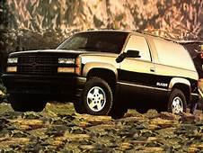 1992 Chevrolet Blazer Specs Safety Rating & MPG  CarsDirect