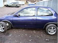 opel corsa b gsi 1995 opel corsa b gsi 2 0 16v 150hp car photo and specs