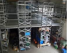 metalsistem scaffali scaffale a passerella con ripiani usato anno 2016