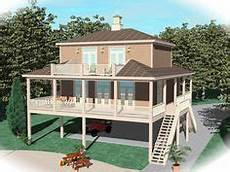 waterfront house plans on pilings 162 best waterfront house plans images house plans