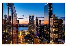 poster mural new york new york city view poster silk wall poster30x20 inch