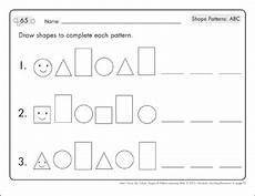 abc patterns worksheets 24 read write shape mats patterns abc printable skills sheets