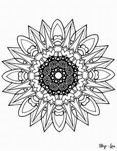 mandala coloring pages 17960 color your stress away with mandala coloring pages skip to my lou