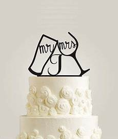 toasting and wine glasses wedding cake topper mr and mrs last name quot initial in home