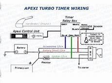 apexi auto timer wiring diagram turbo timer install wiring the ranger station