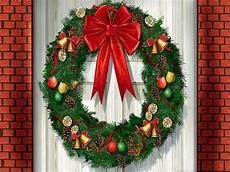 merry christmas wreath wallpaper 51 christmas wreaths wallpapers wallpapersafari