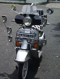 Modifikasi Motor Vespa by Motor Vespa Tua Modif Motor Modif Contest Trend